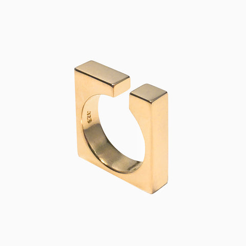 Open Block Ring