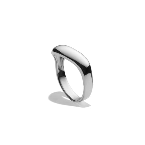 Single Wave Ring