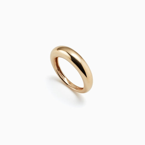 Thin Domed Ring