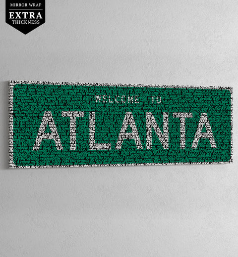 ATLANTA - HIP-HOP STREET SIGN