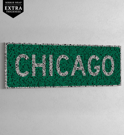 CHICAGO - HIP-HOP STREET SIGN