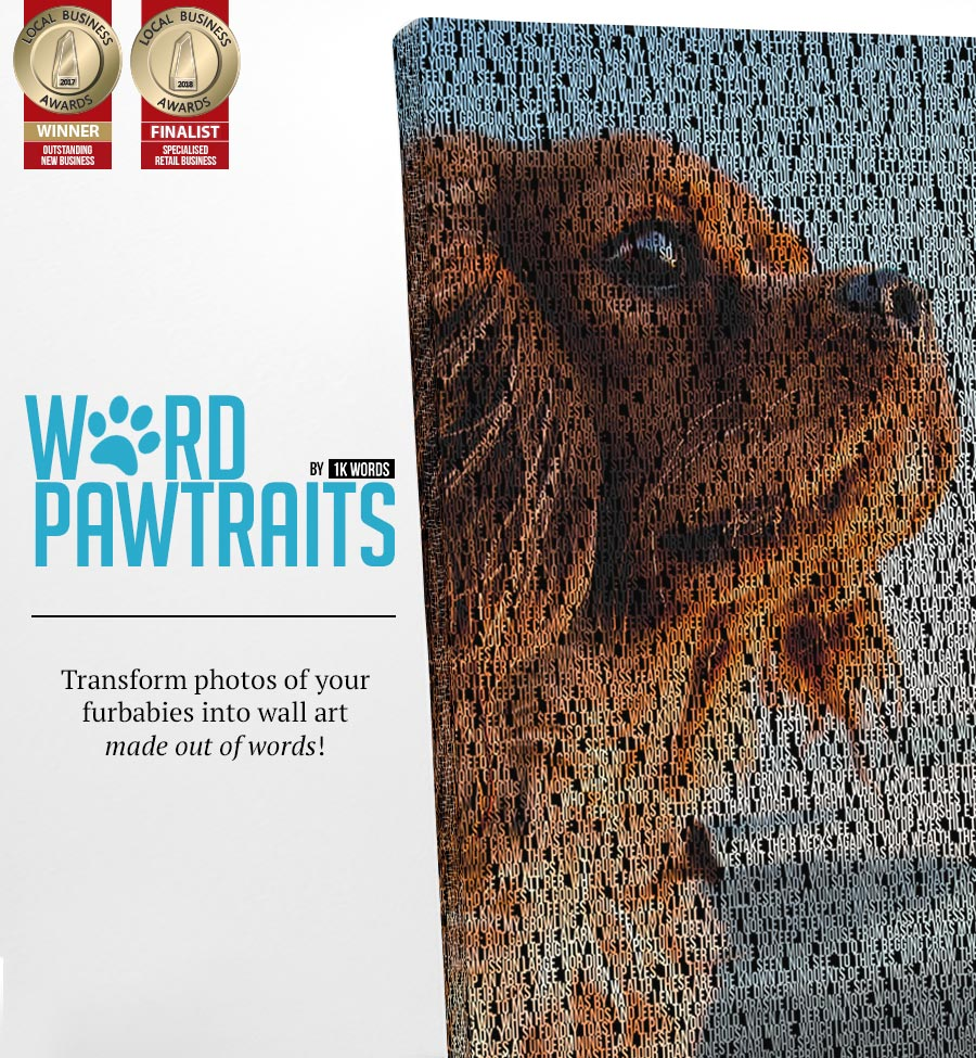 WORD PAWTRAITS