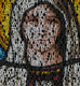MOTHER MARY STAINED GLASS