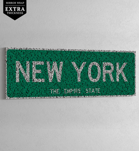 NEW YORK - HIP-HOP STREET SIGN