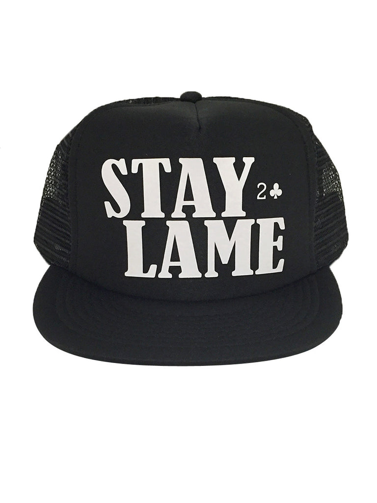 LOWCARD STAY LAME HAT | BLACK |