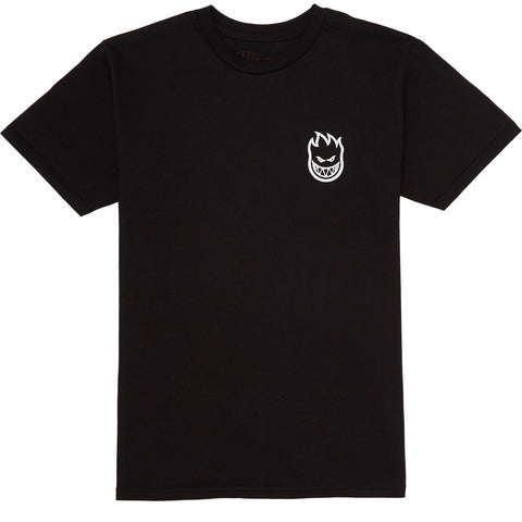 SF STEADY ROCKIN BIGHEAD T-SHIRT | BLACK |