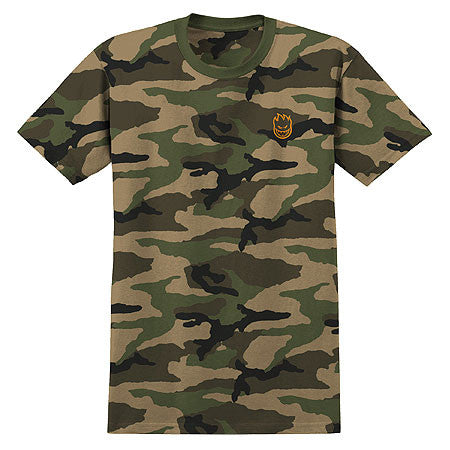 SF STOCK BIGHEAD EMBROIDERED T-SHIRT | CAMO |