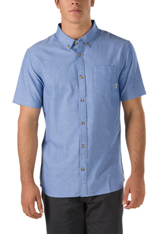 VS HOUSER SS BUTTONDOWN SHIRT | TRUE BLUE |