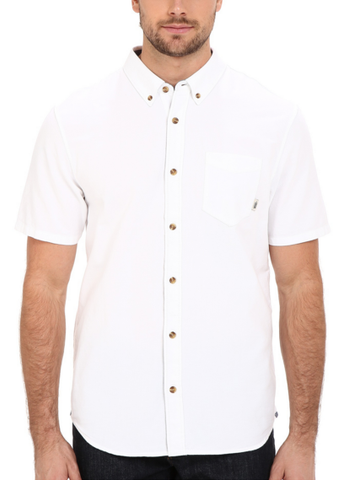 VS HOUSER SS BUTTONDOWN SHIRT | WHITE |