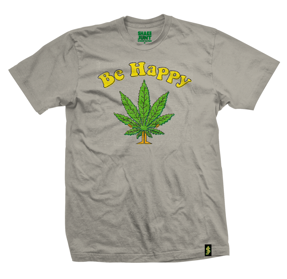 SJ BE HAPPY TEE | SAND |