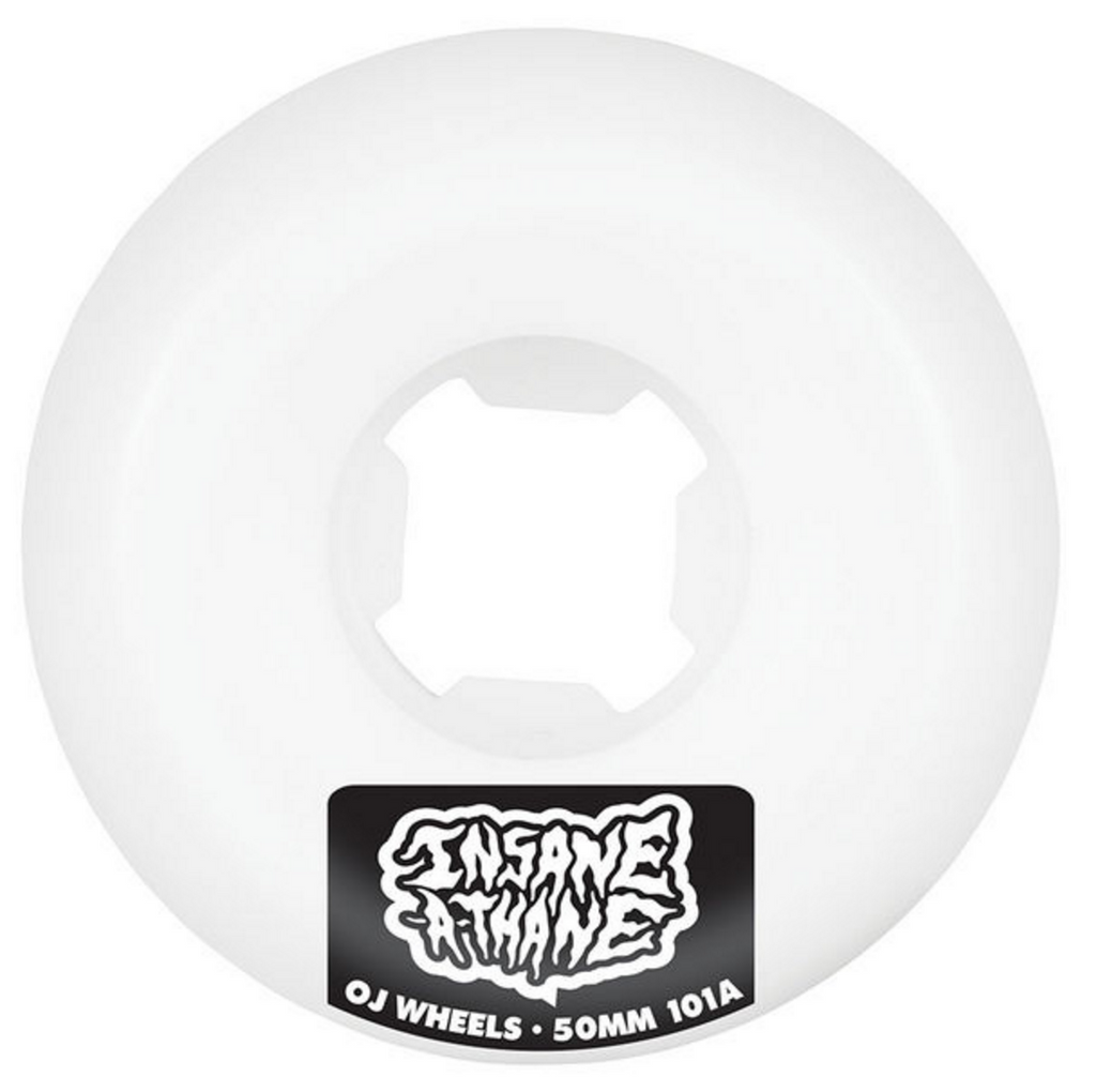 OJ INSANEATHANE EZ EDGE 101A WHEELS | 50MM |
