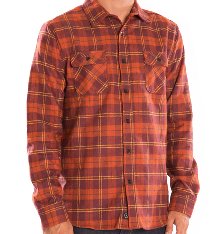 ESWIC BARBOUR FLANNEL | RUST |