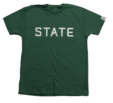 STATE BASIC T-SHIRT | FOREST GREEN |