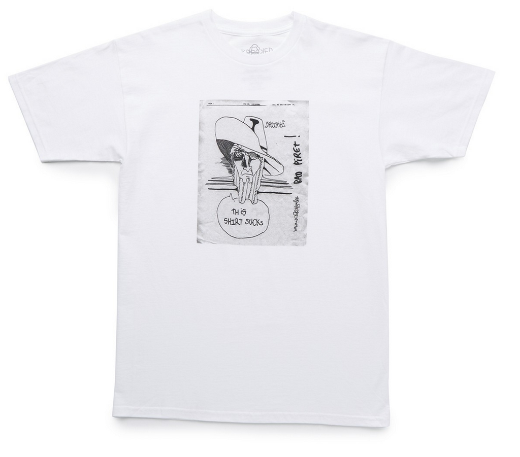 KROOKED THIS SHIRT SUCKS T-SHIRT | WHITE |