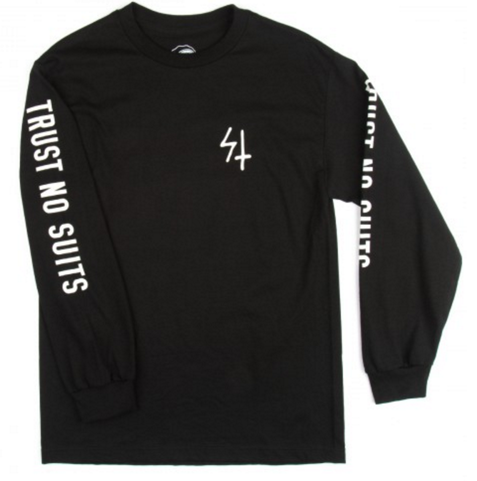 ST TRUST NO SUITS LONGSLEEVE | BLACK |