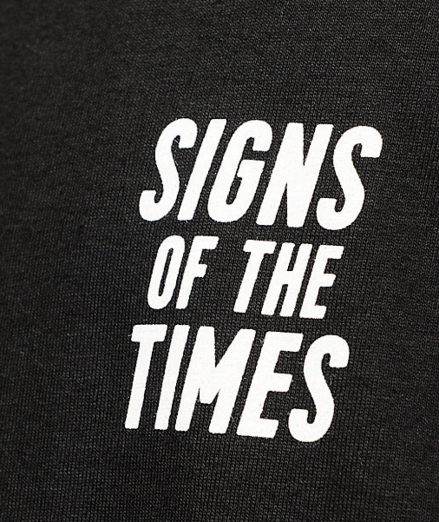 ST SIGNS OF THE TIMES LONGSLEEVE | BLACK |