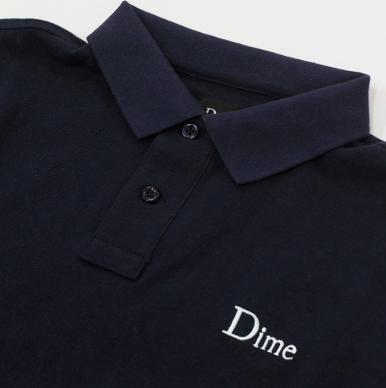 DIME POLO SHIRT | NAVY |