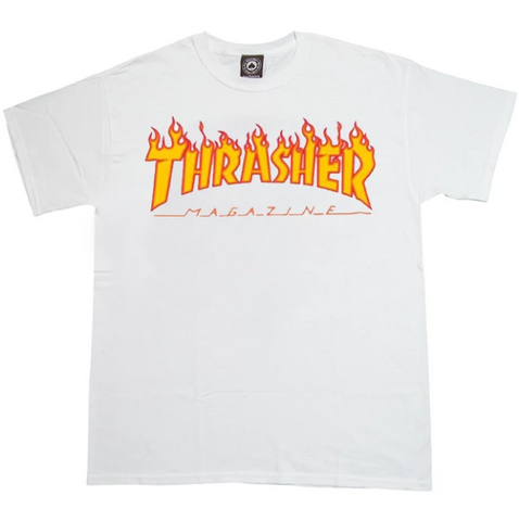 THR FLAME LOGO T-SHIRT | BLACK |