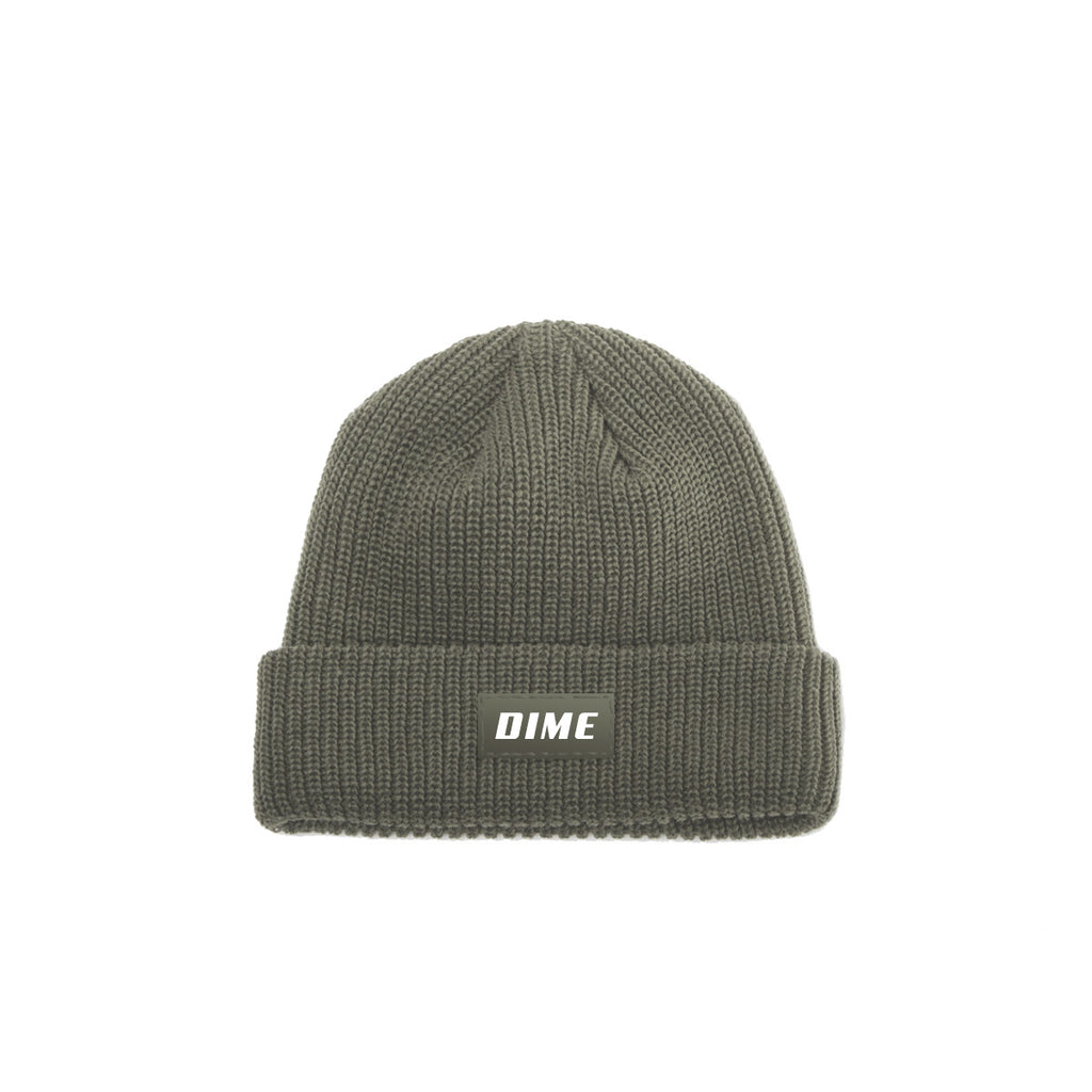DIME HEAVYWEIGHT BEANIE | GREEN |