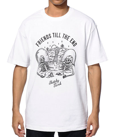 ST THE END T-SHIRT | WHITE |