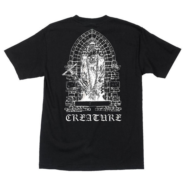 CREAT HATE ETERNAL S/S T SHIRT | BLACK |