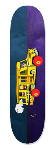 BDS SCHOOL BUS SPLIT STAIN | 8.5"