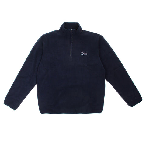 DIME MICRO FLEECE HALF ZIP | NAVY |