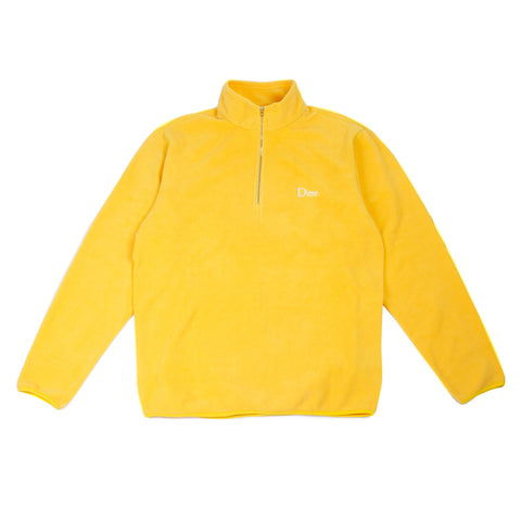 DIME MICRO FLEECE HALF ZIP | JAUNE |