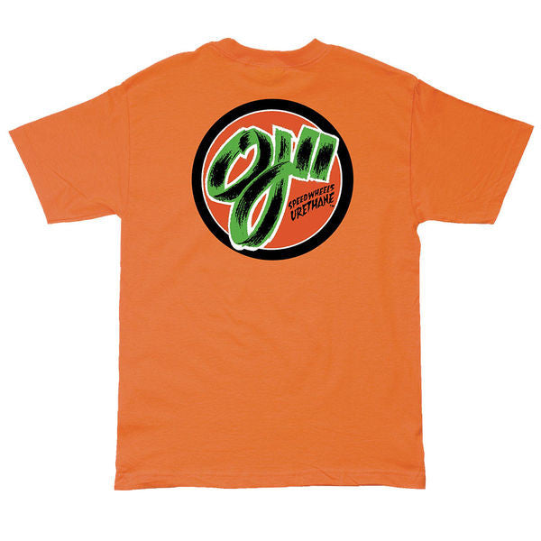 OJ2 SPEEDWHEELS POCKET T-SHIRT | ORANGE |