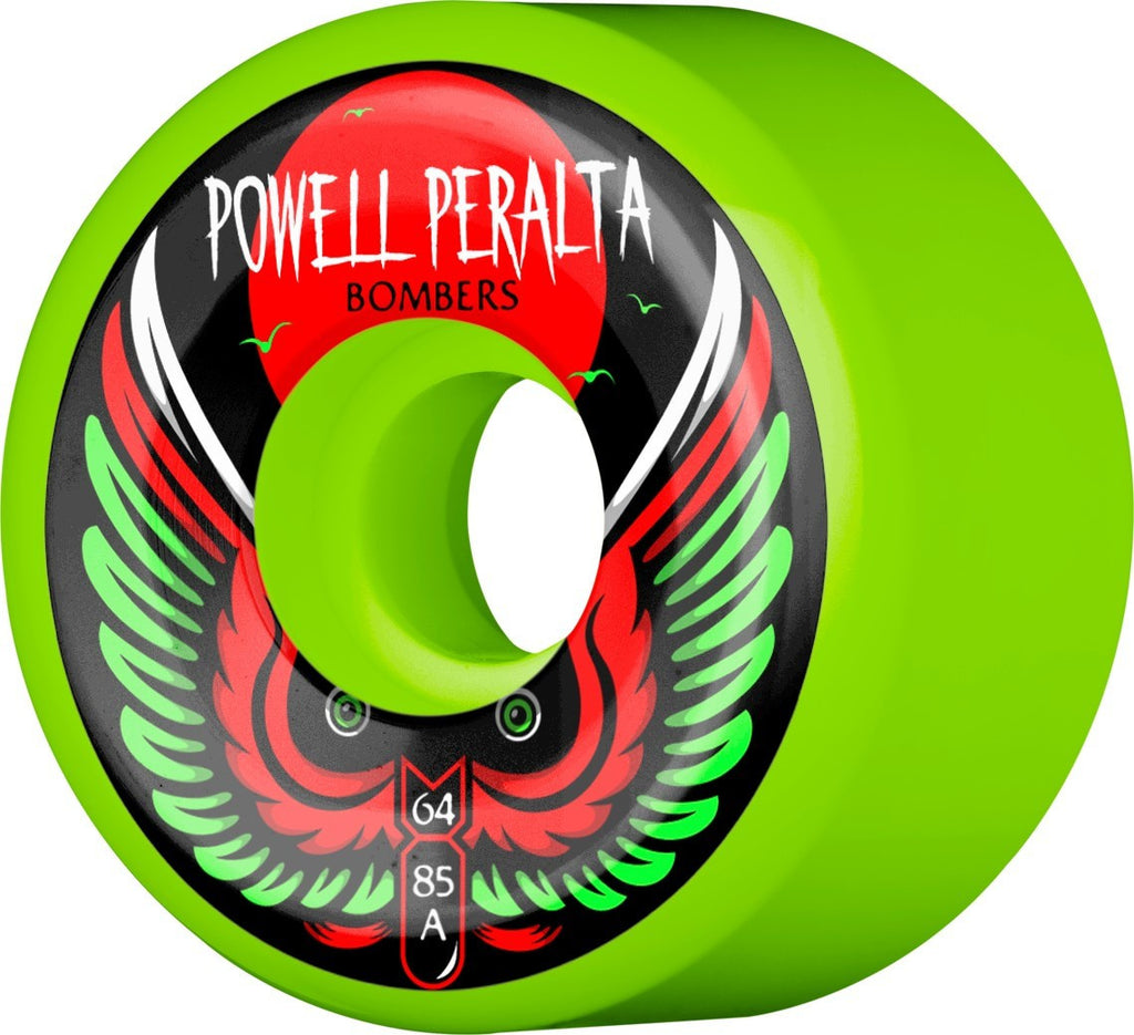 POWELL PARALTA BOMBERS 85A GREEN | 64MM |