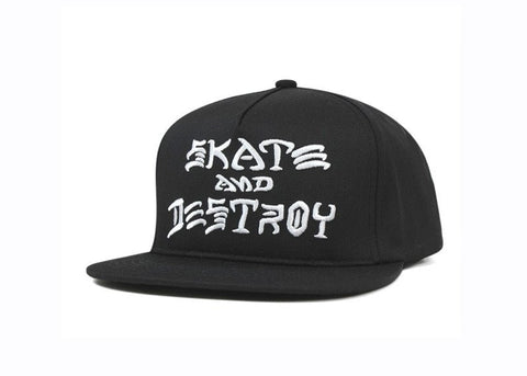 THR SAD EMBROIDER SNAPBACK | BLACK |