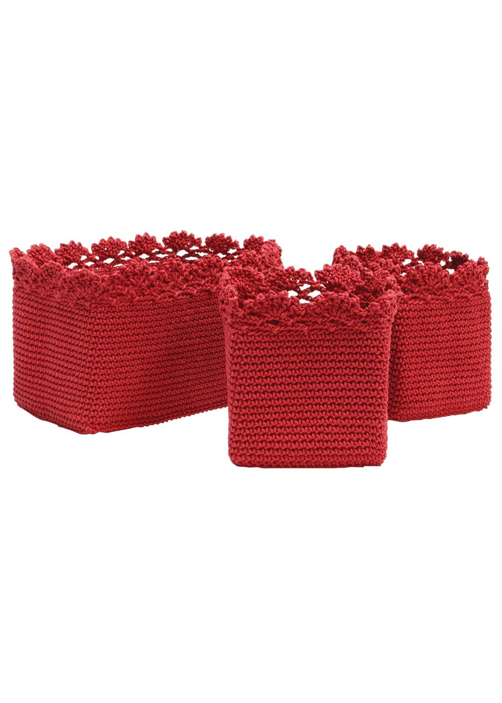 Mode Crochet Baskets