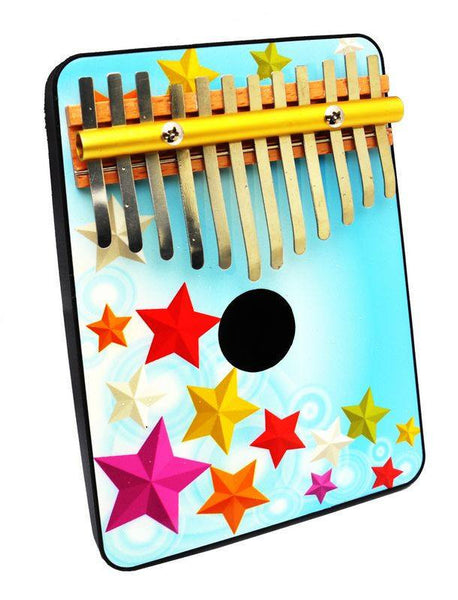 12 Note Thumb Piano for Ages 6 and Up by Schoenhut - Seasonal Expressions - 1
