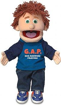 Puppet Ministry-God Answers Prayers-14 inch Full Body-Tommy