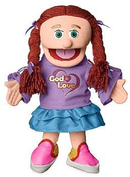 Puppet Ministry-God Is Love-14 inch Full Body-Amy