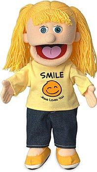 Puppet Ministry-Smile-Jesus Loves You-14 inch Full Body-Katie