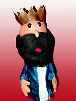 Puppet Ministry-King-14-16 inch-Bible Time Collection