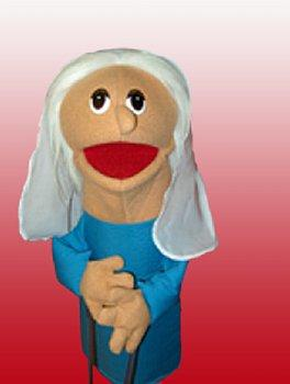 Puppet Ministry-Old Woman-16 inch Puppet-Bible Time Collection