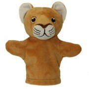 Animal Puppet-My First Puppet-Hand-Lil Lion-The Kids Room