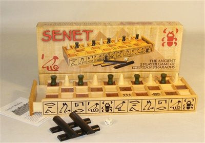 Senet-2 Player-Strategy-Family Game