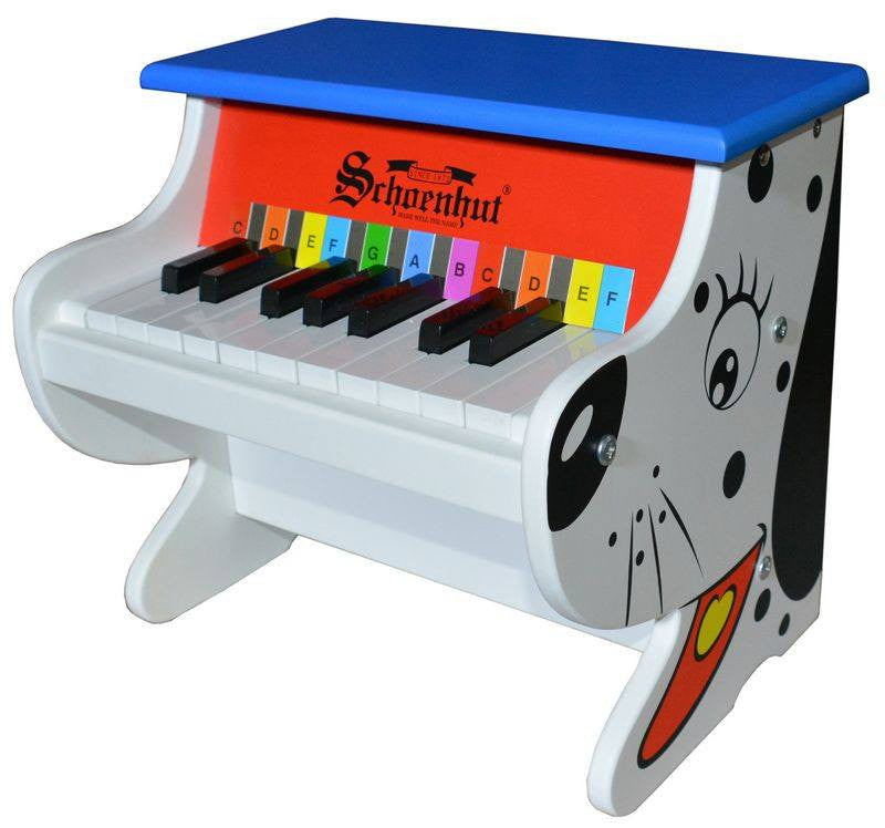 Alligator Digital Piano from Schoenhut for Ages 3 and Up - Seasonal Expressions - 2