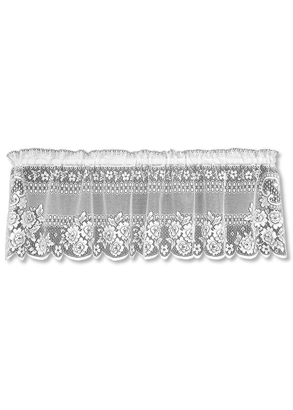 Curtain-Valance-60x16-Victorian Rose-Heritage Lace