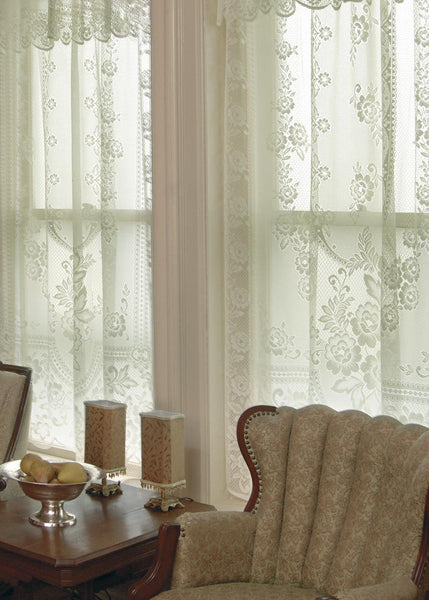 Victorian Rose, Set of 2 Beautiful Window Coverings from Heritage Lace - Seasonal Expressions - 1
