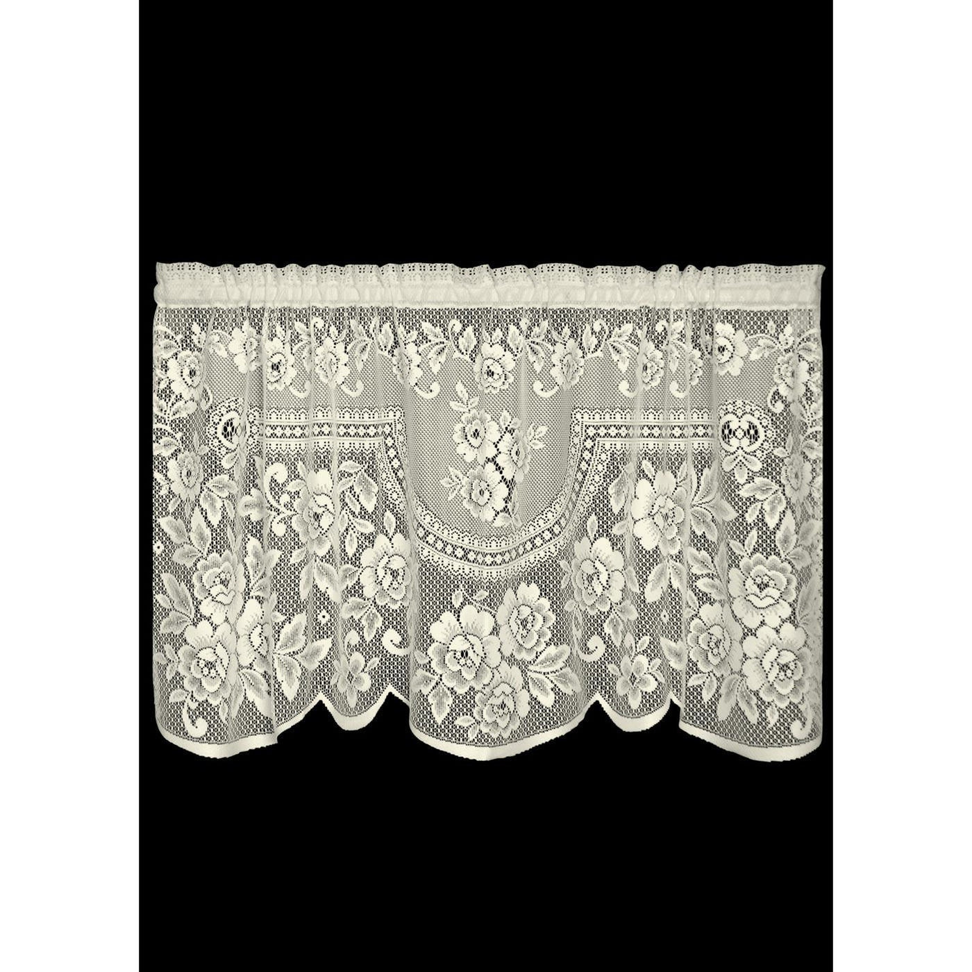 Curtain-Tier-60x30-Heritage Lace-Victorian Rose
