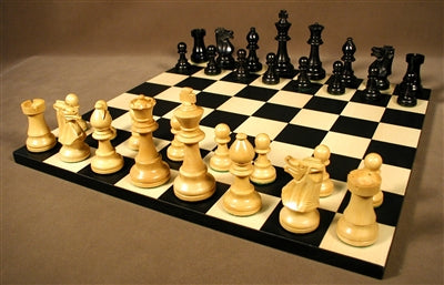 Chess Set-Small-Black French