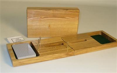 Cribbage-Folding-Oak-Wood