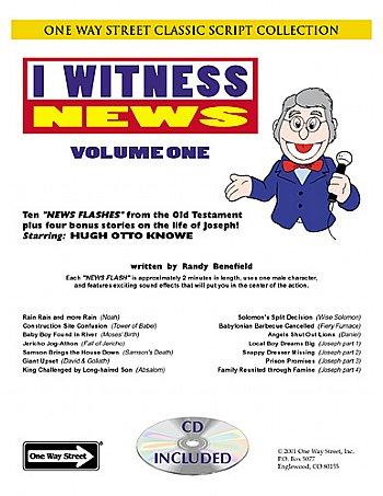 Puppet Scripts- Ministry-I Witness News-Volume 1-OR-Volume 2-OR-Both