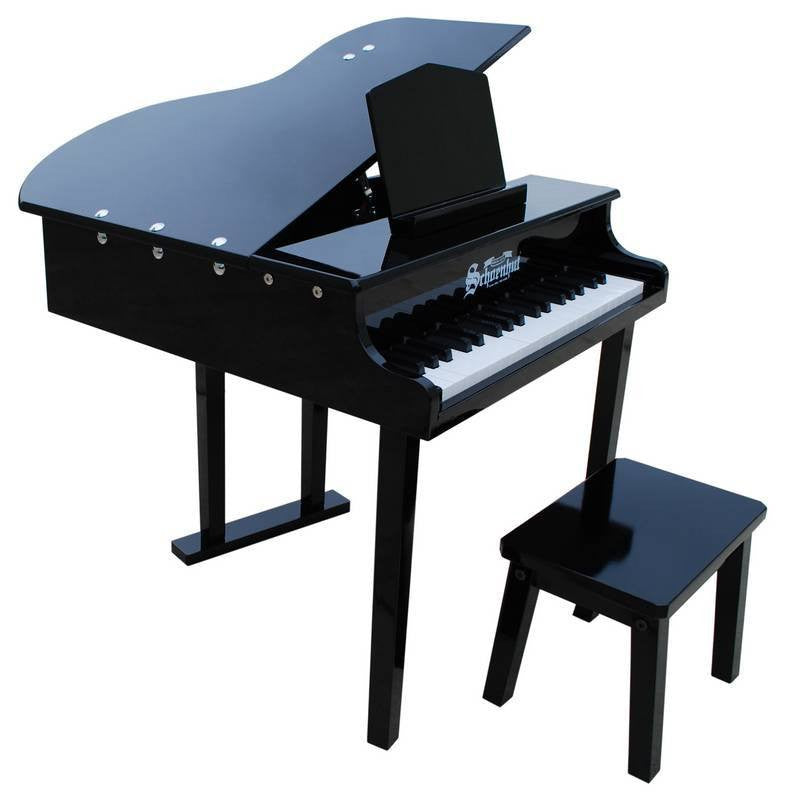 37 Key- Concert Grand Piano-Ages 3 and Up-Musical Children-Schoenhut