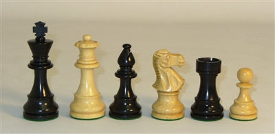 Chessmen-Black-Natural-Lardy Classic