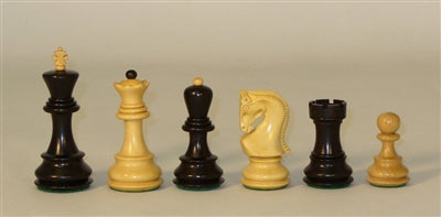 Chessmen-Black-Natural-Old Russian